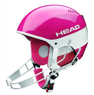 Head Stivot Sl pink+Chinguard 2015/16